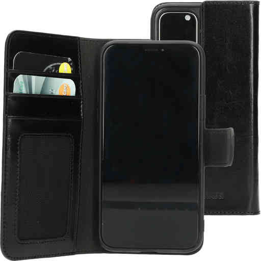 Mobiparts Excellent Wallet Case 2.0 Apple iPhone 11 Pro Jade Black