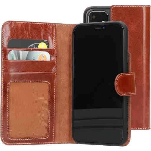 Mobiparts Excellent Wallet Case 2.0 Apple iPhone 11 Oaked Cognac