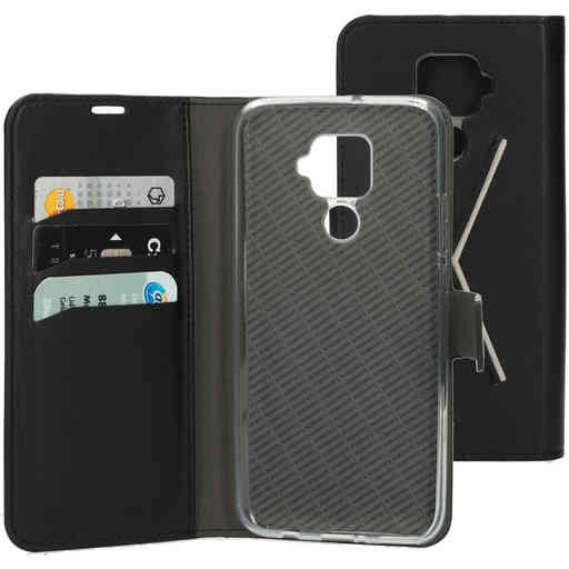 Mobiparts Classic Wallet Case Huawei Mate 30 Lite (2019) Black
