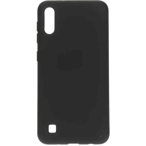 Mobiparts Silicone Cover Samsung Galaxy A10 (2019) Black