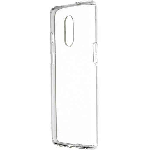 Mobiparts Classic TPU Case OnePlus 7 Transparent