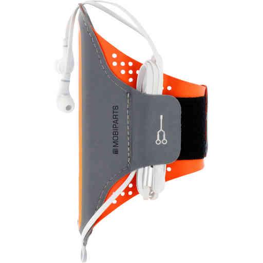 Mobiparts Comfort Fit Sport Armband Apple iPhone 11 Neon Orange