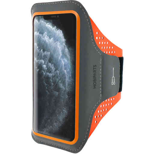 Mobiparts Comfort Fit Sport Armband Apple iPhone 11 Pro Max Neon Orange