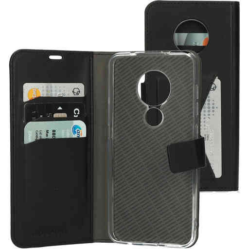 Mobiparts Classic Wallet Case Nokia 6.2/7.2 (2019) Black