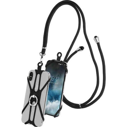 Mobiparts Universal Phonestrap Black