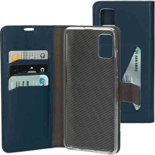 Mobiparts Classic Wallet Case Samsung Galaxy A51 (2020) Blue