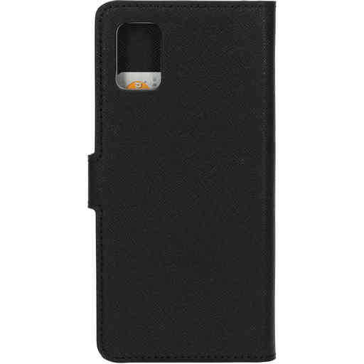 Mobiparts Saffiano Wallet Case Samsung Galaxy A51 (2020) Black