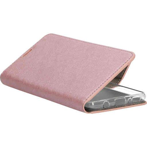 Mobiparts Saffiano Wallet Case Samsung Galaxy A51 (2020) Pink