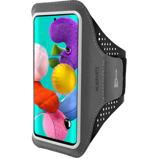 Mobiparts Comfort Fit Sport Armband Samsung Galaxy A51 (2020) Black