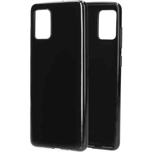 Mobiparts Classic TPU Case Samsung Galaxy A71 (2020) Black