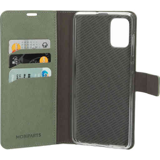 Mobiparts Classic Wallet Case Samsung Galaxy A71 (2020) Stone Green