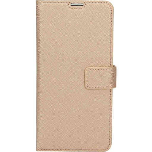 Mobiparts Saffiano Wallet Case Samsung Galaxy A71 (2020) Copper