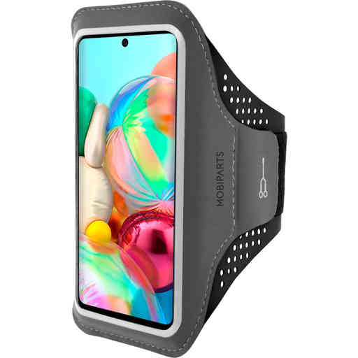 Mobiparts Comfort Fit Sport Armband Samsung Galaxy A71 (2020) Black