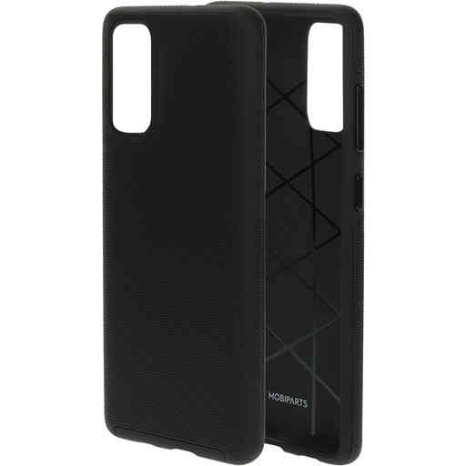 Mobiparts Rugged Tough Grip Case Samsung Galaxy S20 4G/5G Black