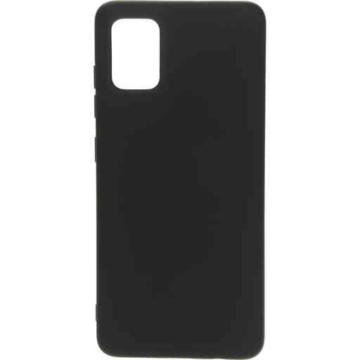 Mobiparts Silicone Cover Samsung Galaxy A51 (2020) Black