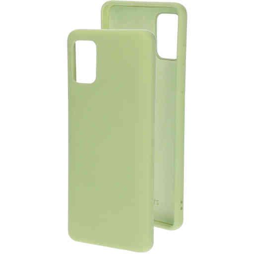 Mobiparts Silicone Cover Samsung Galaxy A51 (2020) Pistache Green