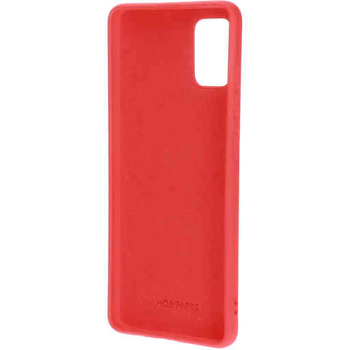 Mobiparts Silicone Cover Samsung Galaxy A51 (2020) Scarlet Red