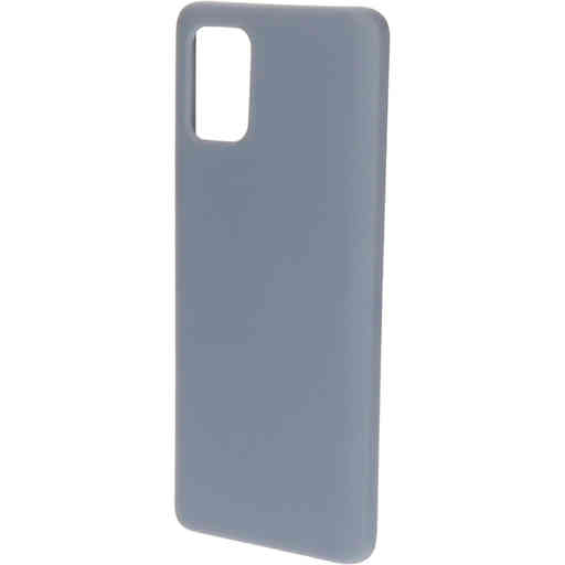 Mobiparts Silicone Cover Samsung Galaxy A71 (2020) Royal Grey