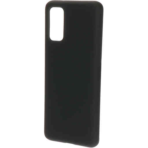 Mobiparts Silicone Cover Samsung Galaxy S20 4G/5G Black