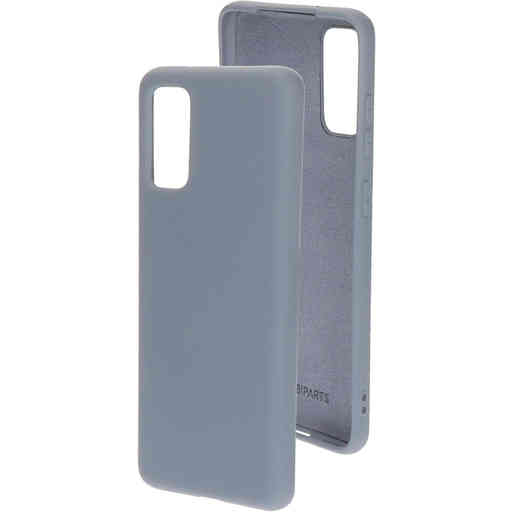 Mobiparts Silicone Cover Samsung Galaxy S20 4G/5G Royal Grey