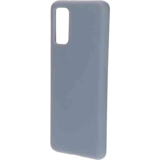 Mobiparts Silicone Cover Samsung Galaxy S20 4G/5G Royal Grey