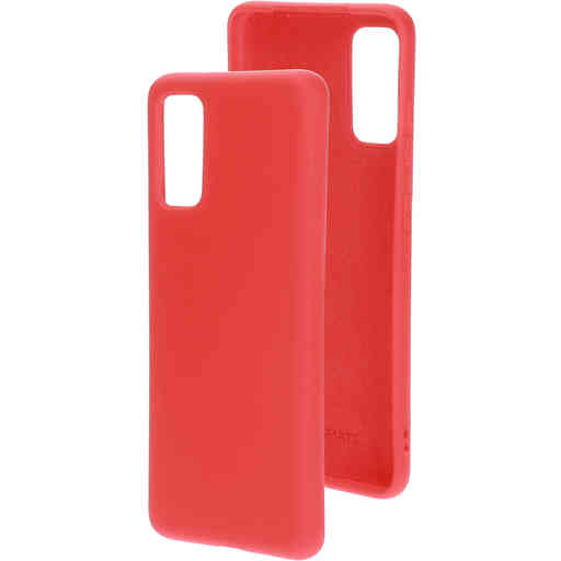 Mobiparts Silicone Cover Samsung Galaxy S20 4G/5G Scarlet Red