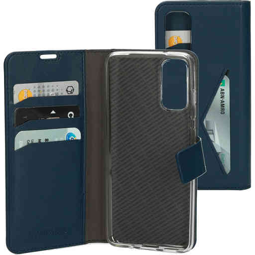 Mobiparts Classic Wallet Case Samsung Galaxy S20 Blue