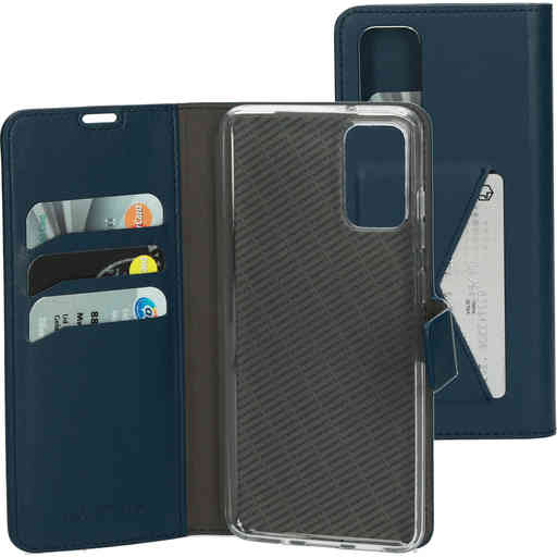 Mobiparts Classic Wallet Case Samsung Galaxy S20 Plus 4G/5G Blue