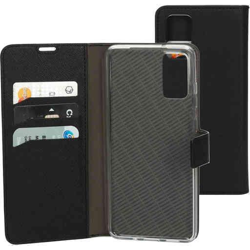 Mobiparts Saffiano Wallet Case Samsung Galaxy S20 Black