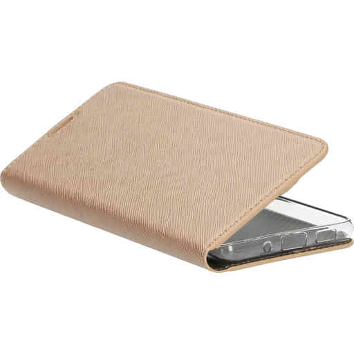 Mobiparts Saffiano Wallet Case Samsung Galaxy S20 4G/5G Copper