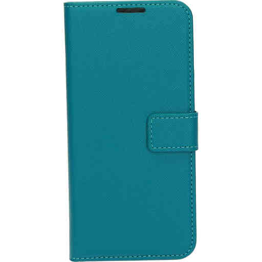 Mobiparts Saffiano Wallet Case Samsung Galaxy S20 4G/5G Turquoise