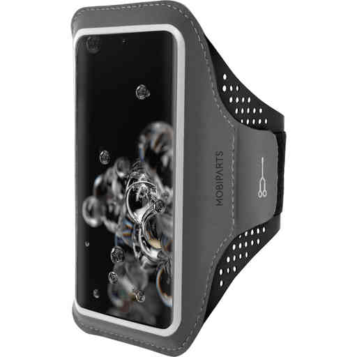 Mobiparts Comfort Fit Sport Armband Samsung Galaxy S20 Ultra 4G/5G Black