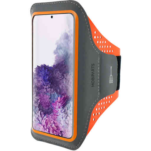 Mobiparts Comfort Fit Sport Armband Samsung Galaxy S20 Plus 4G/5G Neon Orange