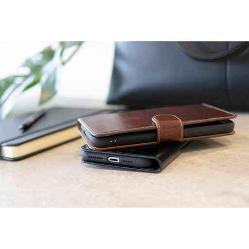 Mobiparts Excellent Wallet Case 2.0 Samsung Galaxy S20 4G/5G Oaked Cognac
