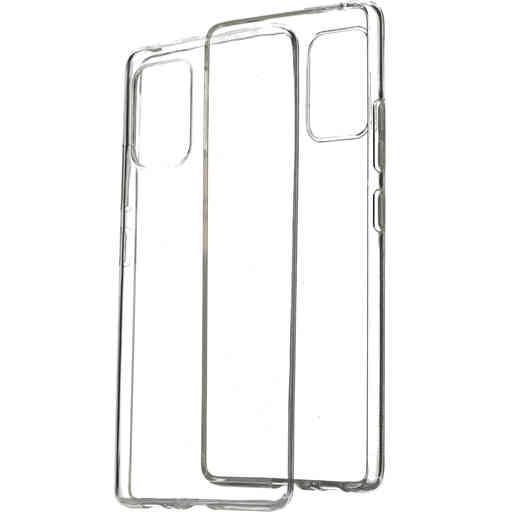 Mobiparts Classic TPU Case Samsung Galaxy S10 Lite Transparent
