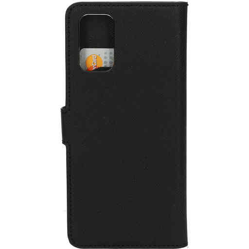 Mobiparts Saffiano Wallet Case Samsung Galaxy S20 Plus 4G/5G Black