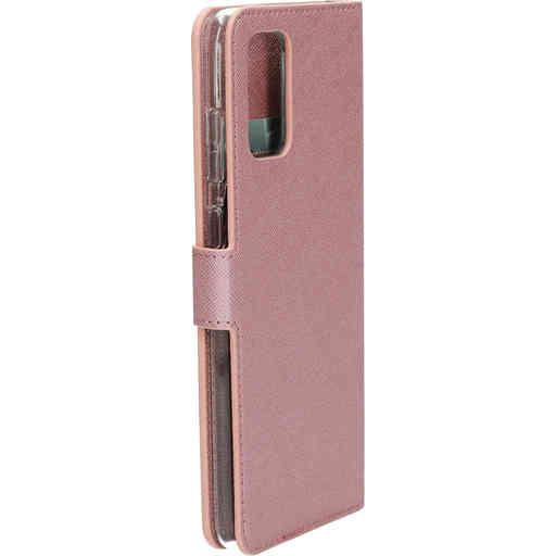 Mobiparts Saffiano Wallet Case Samsung Galaxy S20 Plus 4G/5G Pink
