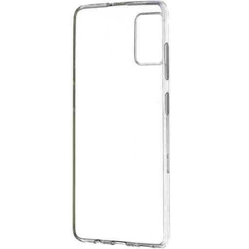 Mobiparts Classic TPU Case Samsung Galaxy A41 (2020) Transparent