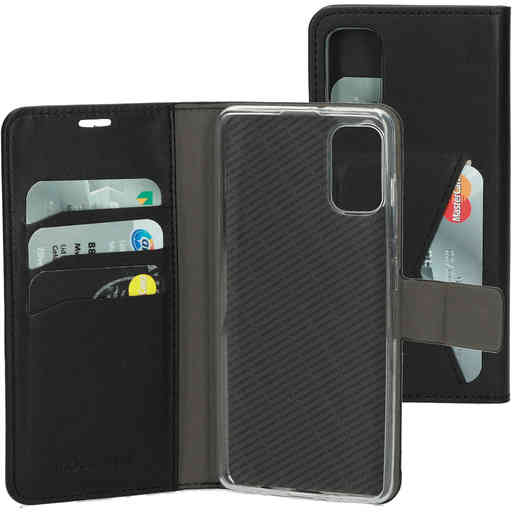 Mobiparts Classic Wallet Case Samsung Galaxy A41 (2020) Black