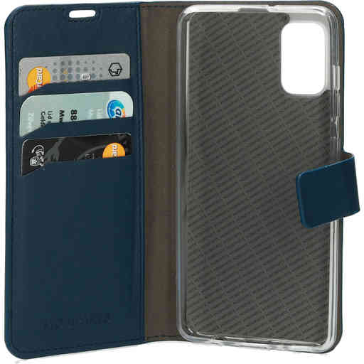 Mobiparts Classic Wallet Case Samsung Galaxy A41 (2020) Blue