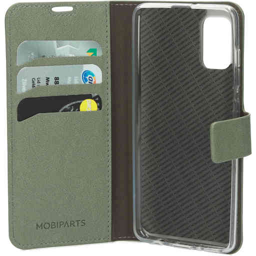 Mobiparts Classic Wallet Case Samsung Galaxy A41 (2020) Stone Green