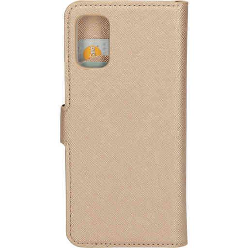 Mobiparts Saffiano Wallet Case Samsung Galaxy A41 (2020) Copper