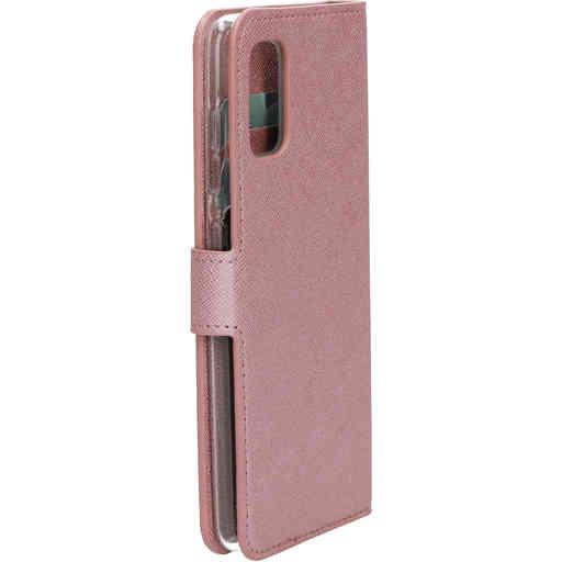 Mobiparts Saffiano Wallet Case Samsung Galaxy A41 (2020) Pink