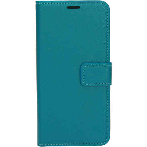 Mobiparts Saffiano Wallet Case Samsung Galaxy A41 (2020) Turquoise
