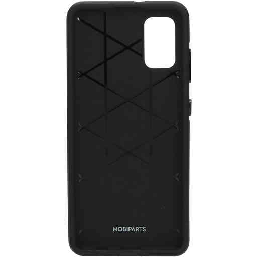 Mobiparts Rugged Tough Grip Case Samsung Galaxy A41 (2020) Black