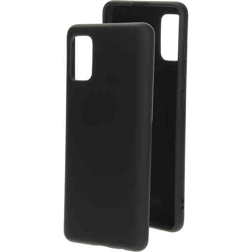 Mobiparts Silicone Cover Samsung Galaxy A41 (2020) Black