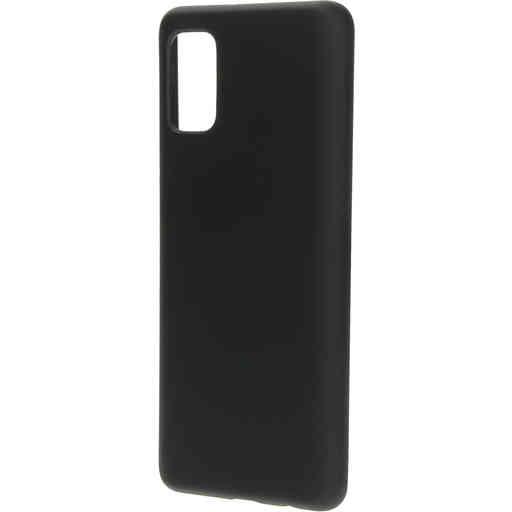 Mobiparts Silicone Cover Samsung Galaxy A41 (2020) Black