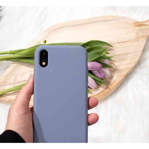 Mobiparts Silicone Cover Samsung Galaxy A41 (2020) Royal Grey