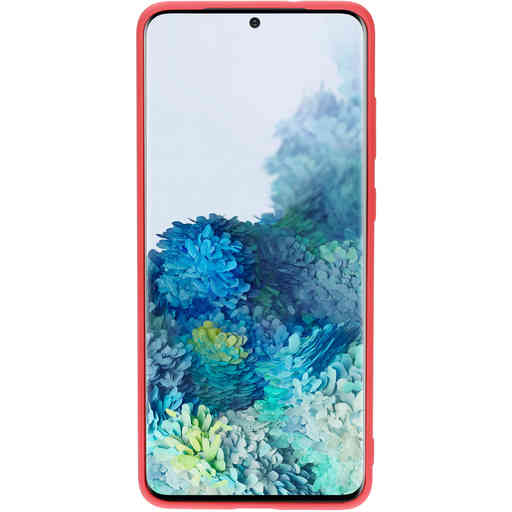 Mobiparts Silicone Cover Samsung Galaxy S20 Plus 4G/5G Scarlet Red