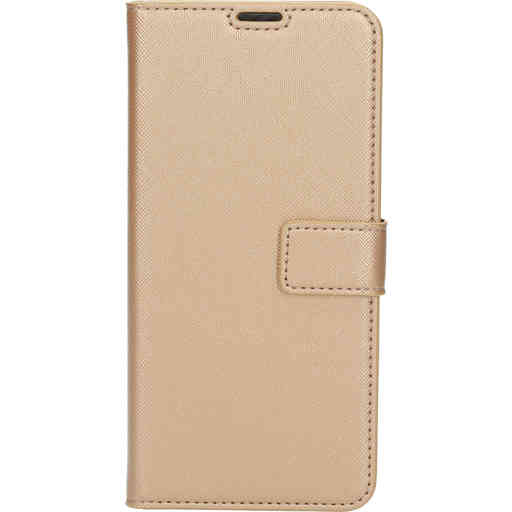 Mobiparts Saffiano Wallet Case Samsung Galaxy A21s (2020) Copper
